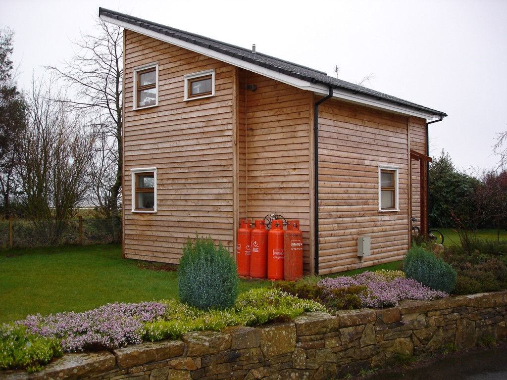 Larch Cladding - Norbuild