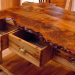Elm Burr Top - Dovetail Scotland
